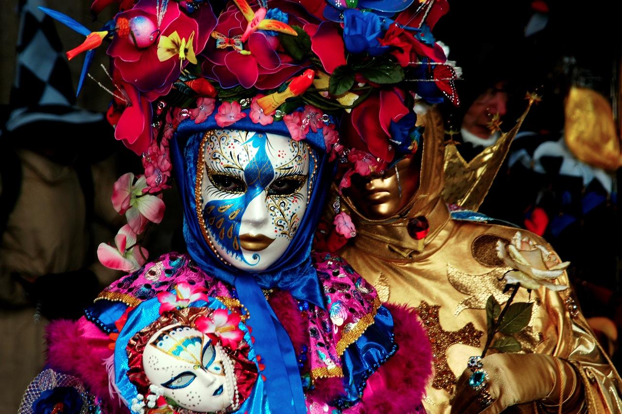 Костюм от Венецианският карнавал